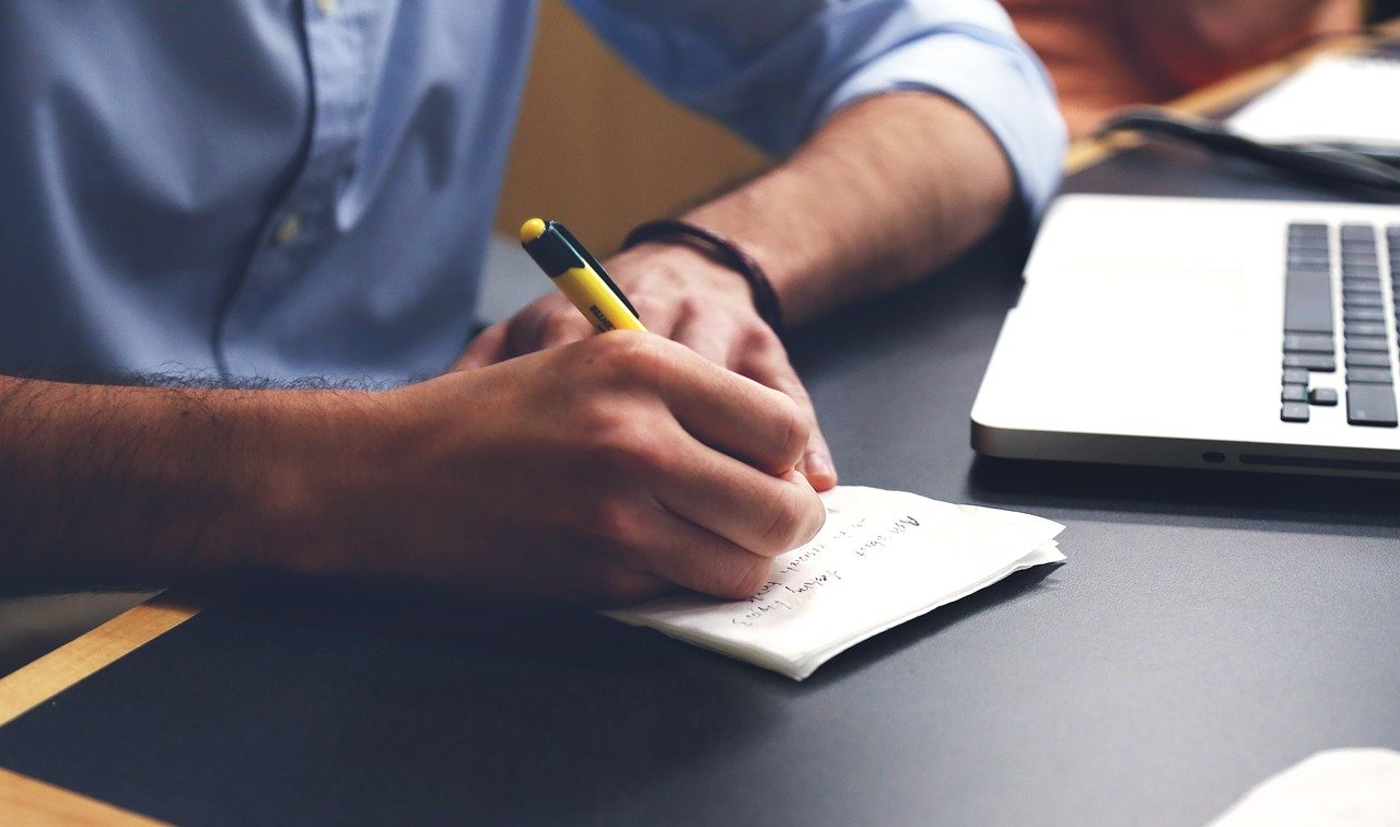 writing notes will keep you mentally active